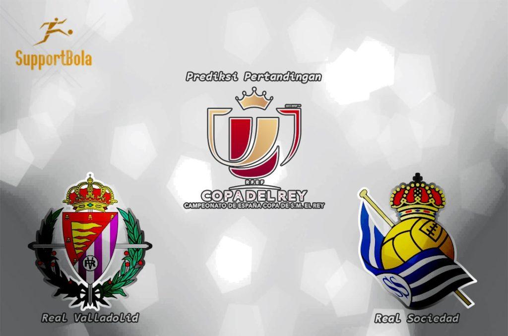 Prediksi Valladolid vs Real sociedad 02 Desember 2016 (Copa del Rey)