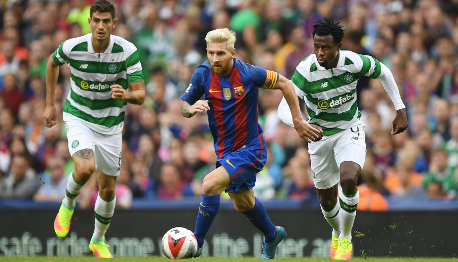 Lionel Messi VS Celtic