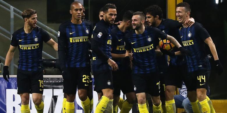 Liga Italia Hasil Pertandingan Inter Milan VS Fiorentina : Skor 4-2