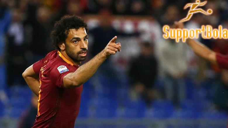 Alami Cedera Engkel, Mohamed Salah Terpaksa Absen Lawan Lazio
