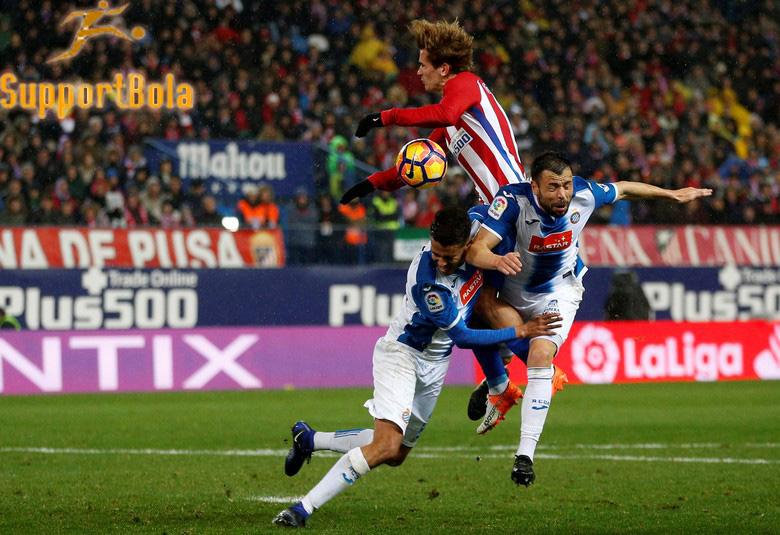 Atletico Ditahan Imbang Espanyol Tanpa Gol