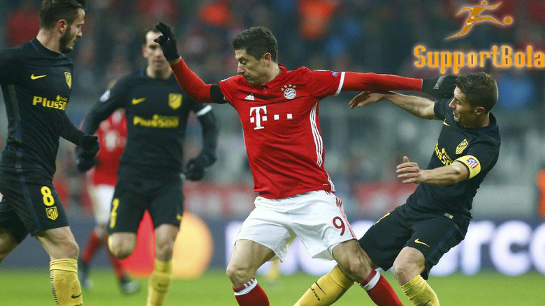 Bayern Hentikan Laju Sempurna Atletico