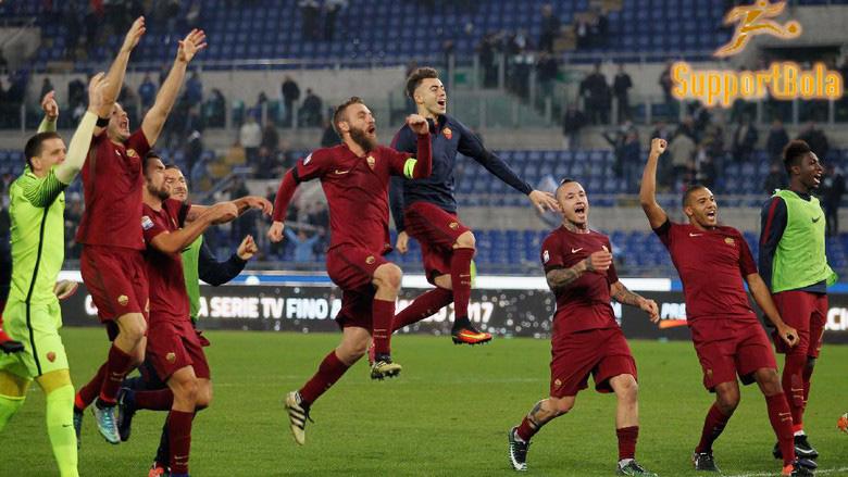 Berhasil Kalahkan Lazio, Kini Roma Fokus Kepada Milan