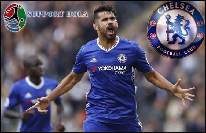 Jaga Sikap Membuat Diego Costa Menjadi Striker Terbaik Liga Inggris