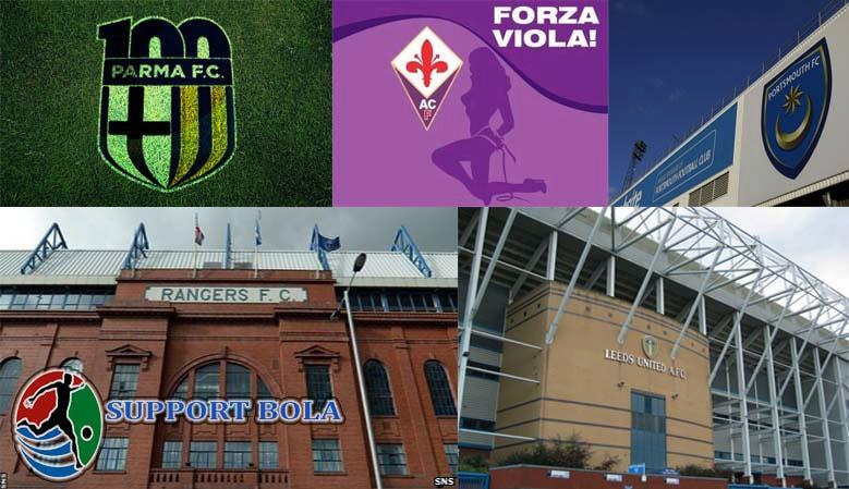 Nama Klub Sepakbola Eropa Yang Pernah Mengalami Kebangkrutan
