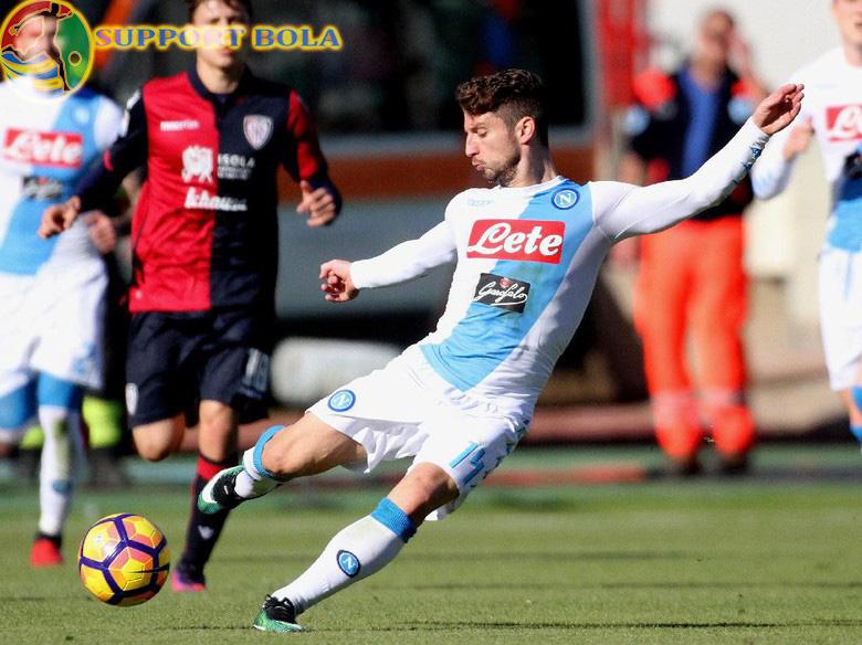 Napoli Pesta Gol 5-0 Tanpa Balas Di Kandang Cagliari