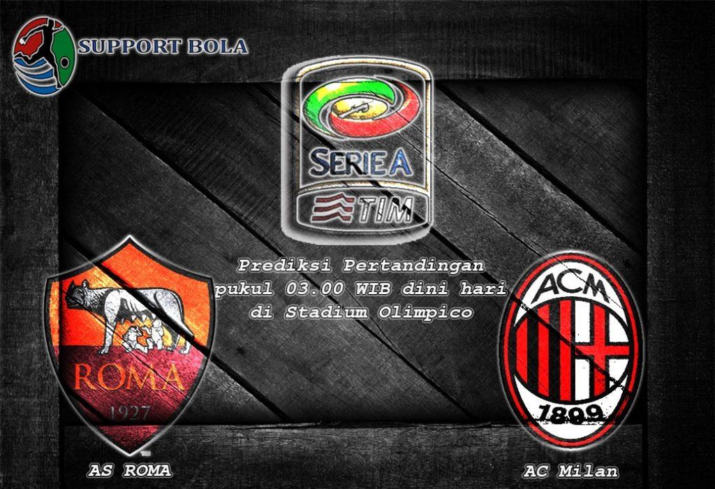 Prediksi AS Roma vs AC Milan 13 Desember 2016 (Serie A)