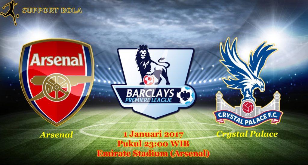Prediksi Arsenal vs Crystal Palace (Liga Inggris) 1 Januari 2017