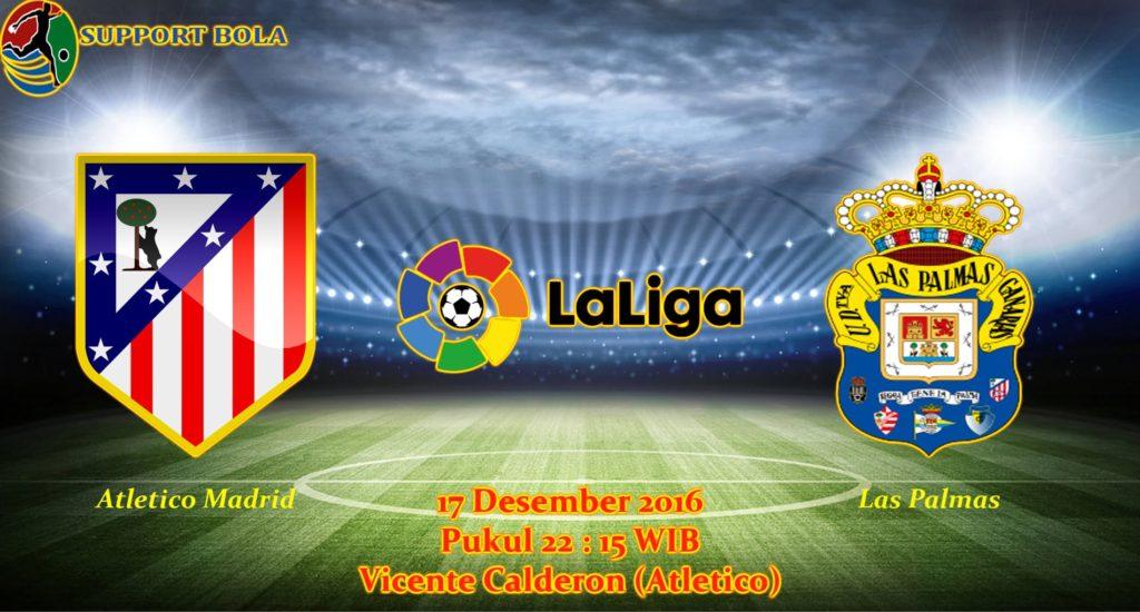 Prediksi Atletico Madrid vs Las Palmas