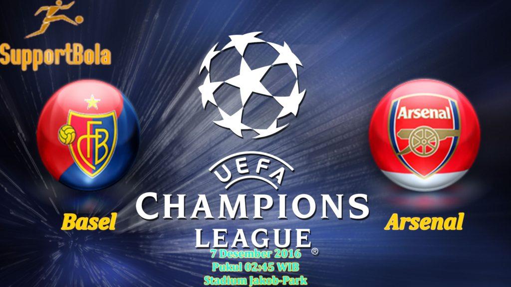 Prediksi Basel vs Arsenal (Liga Champions) 7 Desember 2016