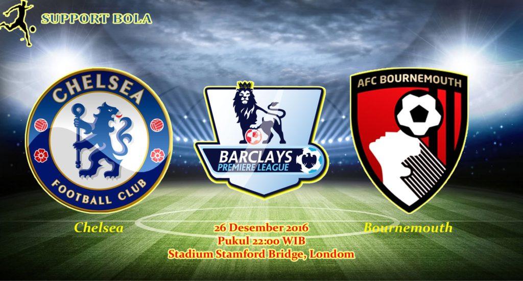 Prediksi Chelsea vs AFC Bournemouth (Liga Inggris) 26 Desember 2016