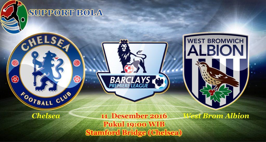Prediksi Chelsea vs West Brom Albion (Liga Inggris) 11 Desember 2016