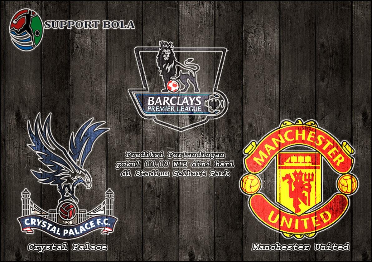 Prediksi Crystal Palace vs Manchester United 15 Desember 2016 Liga Inggris