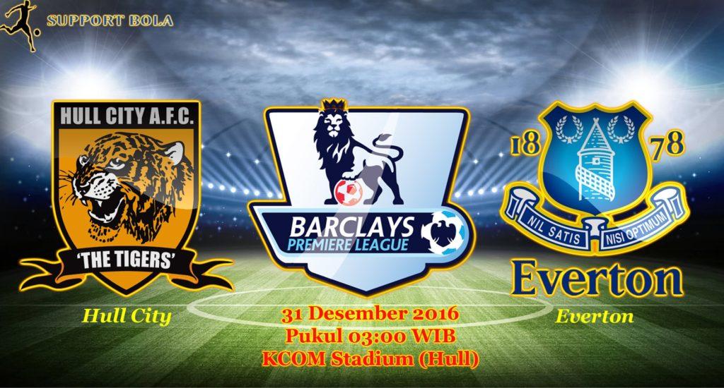 Prediksi Hull City vs Everton (Liga Inggris) 31 Desember 2016
