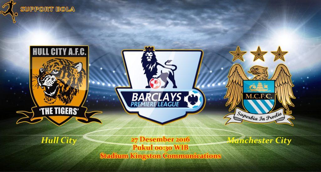 Prediksi Hull City vs Manchester City (Liga Inggris) 27 Desember 2016