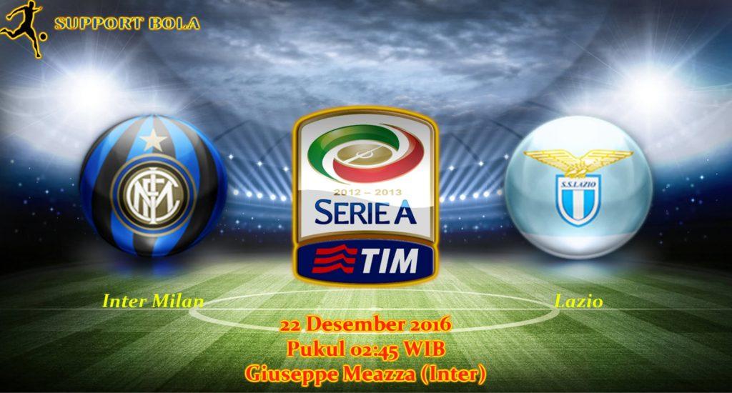 Prediksi Inter Milan vs Lazio (Liga Italia) 22 Desember 2016