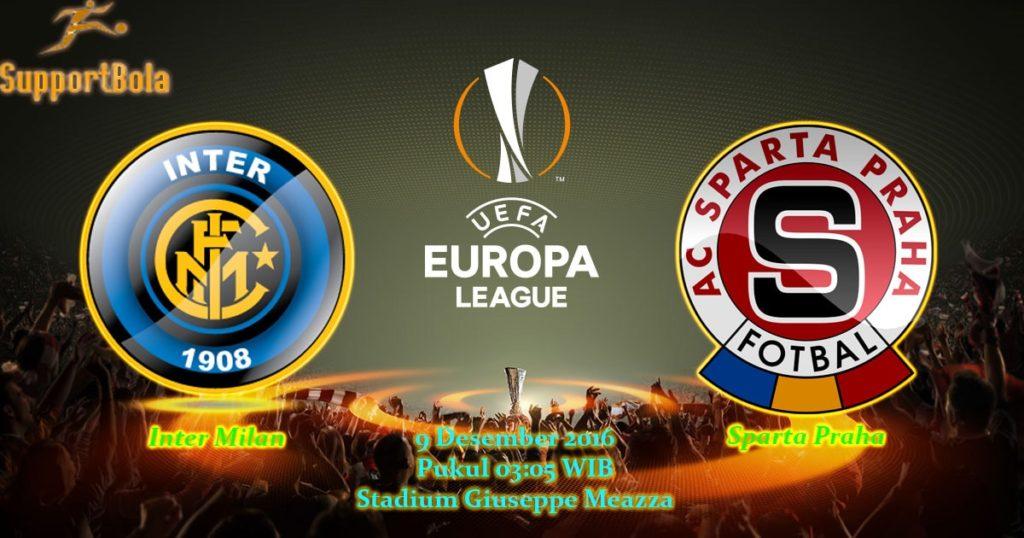 Prediksi Inter Milan vs Sparta Praha (Liga Eropa) 9 Desember 2016
