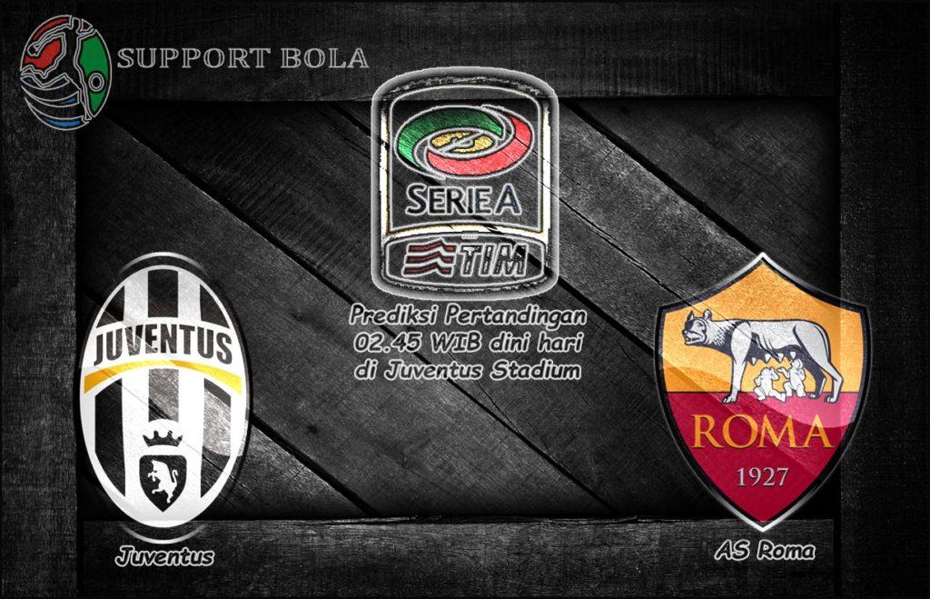 Prediksi Juventus vs Roma 18 Desember 2016 (Liga Italia Serie A)