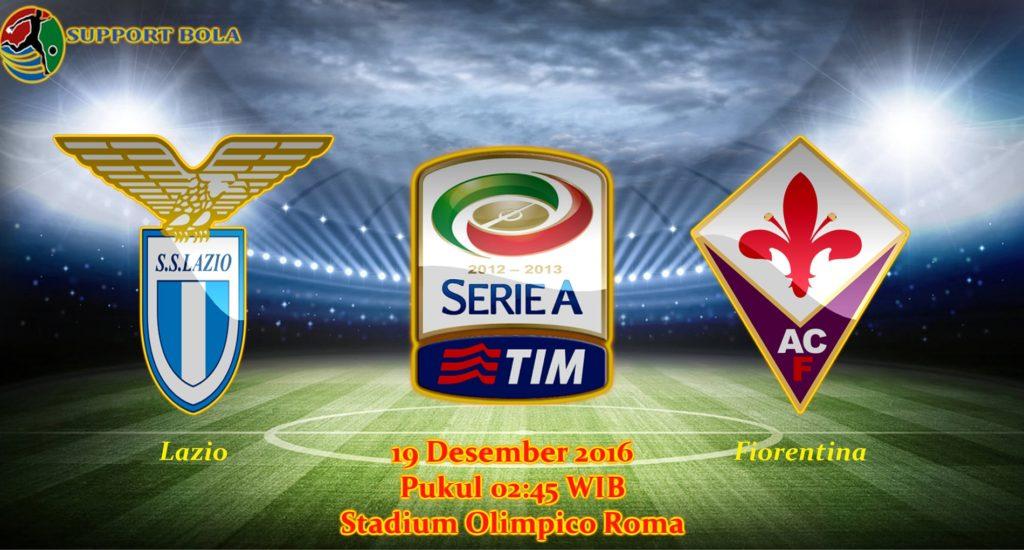Prediksi Lazio vs Fiorentina (Liga Serie A) 19 Desember 2016