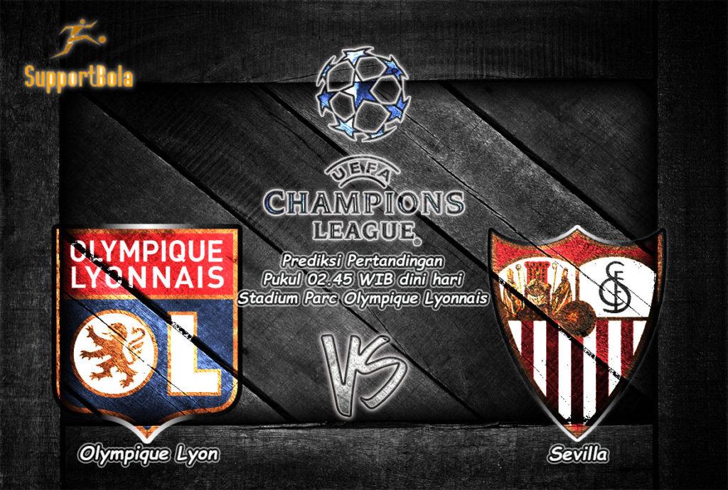 Prediksi Lyon vs Sevilla 8 Desember 2016 (Liga Champion)