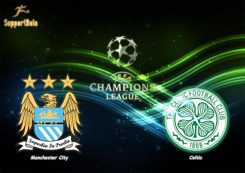 Prediksi Manchester City vs Celtic 7 Desember 2016 (Liga Champion)