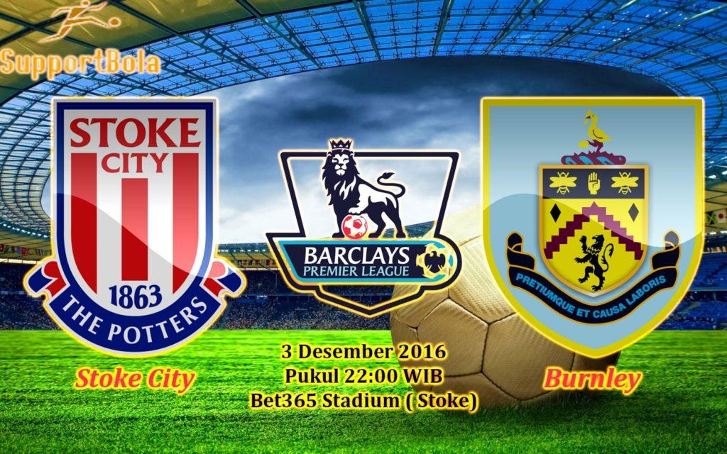 Prediksi Stoke City vs Burnley (Liga Inggris) 3 Desember 2016