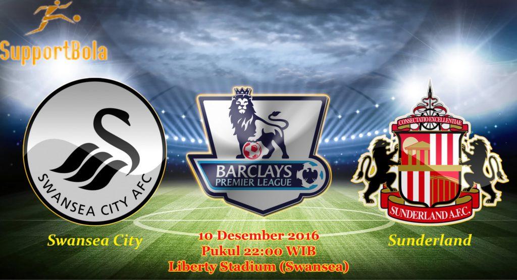 Prediksi Swansea City vs Sunderland (Liga Inggris) 10 Desember 2016