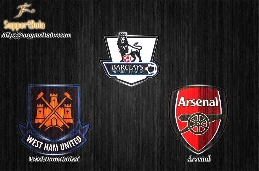 Prediksi West Ham United vs Arsenal 4 Desember 2016 (Liga Inggris)