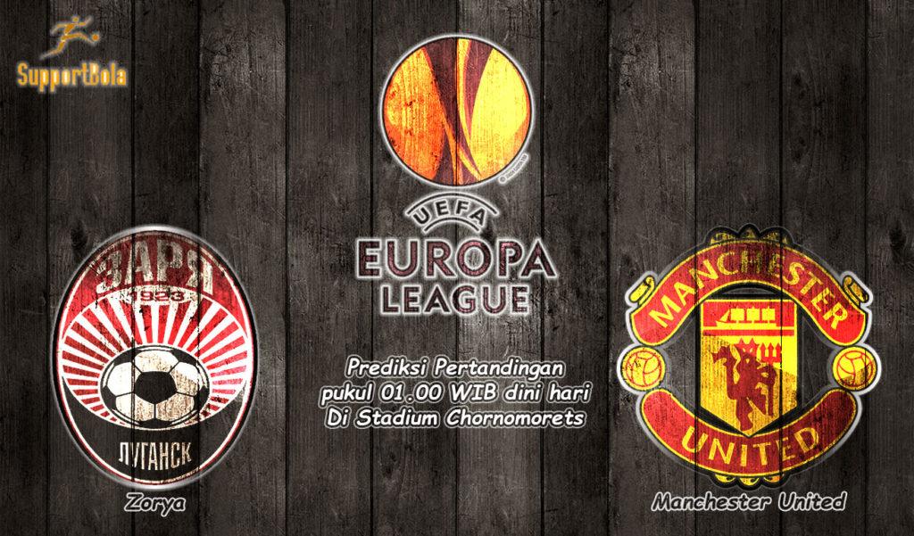 Prediksi Zorya vs Manchester United 9 Desember 2016 (Liga Eropa)