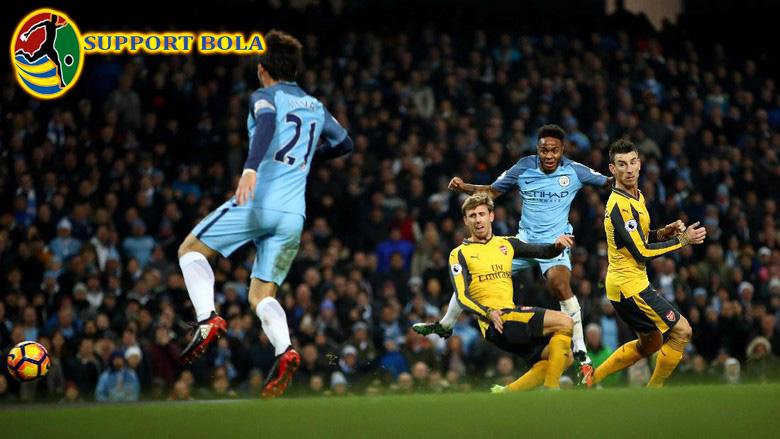 Tumbang Di Etihad, City Tundukkan Arsenal 2-1