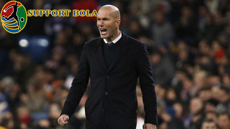 Zidane : Tetap Tampil Tenang, Madrid!