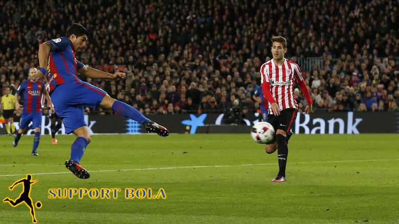 Sudah 100 Gol Dari Suarez Untuk Barcelona