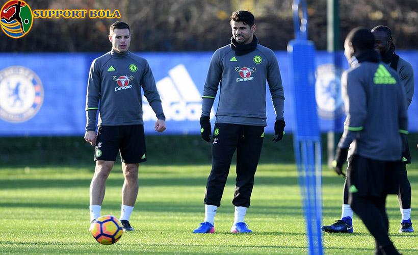Setelah Dikabarkan Bermasalah Dengan Conte, Costa Kembali Berlatih bersama Chelsea