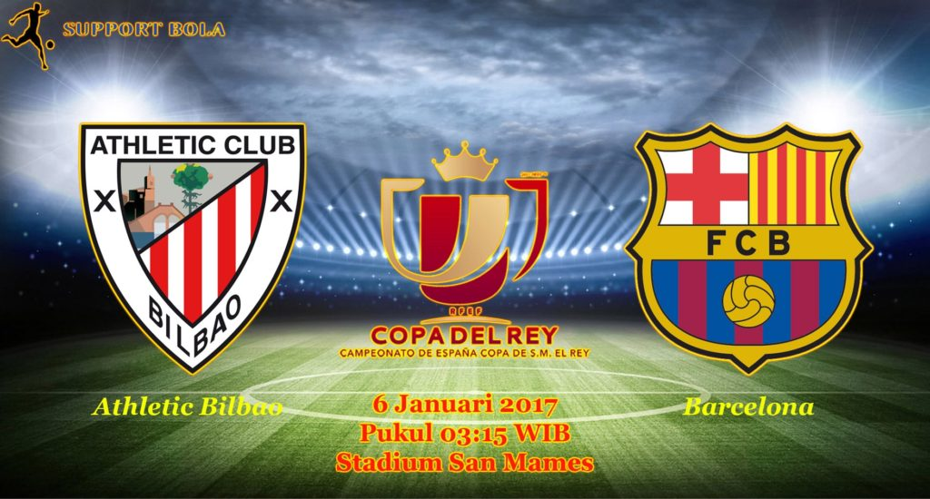 Prediksi Athletic Bilbao vs Barcelona (Copa Del Rey) 6 Januari 2017