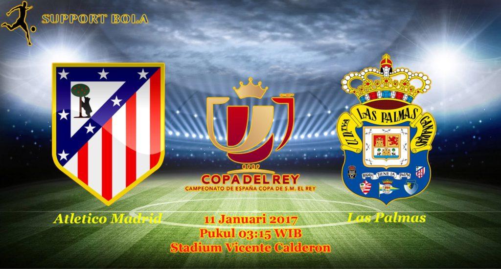 Prediksi Atletico Madrid vs Las Palmas (Copa Del Rey) 11 Januari 2017