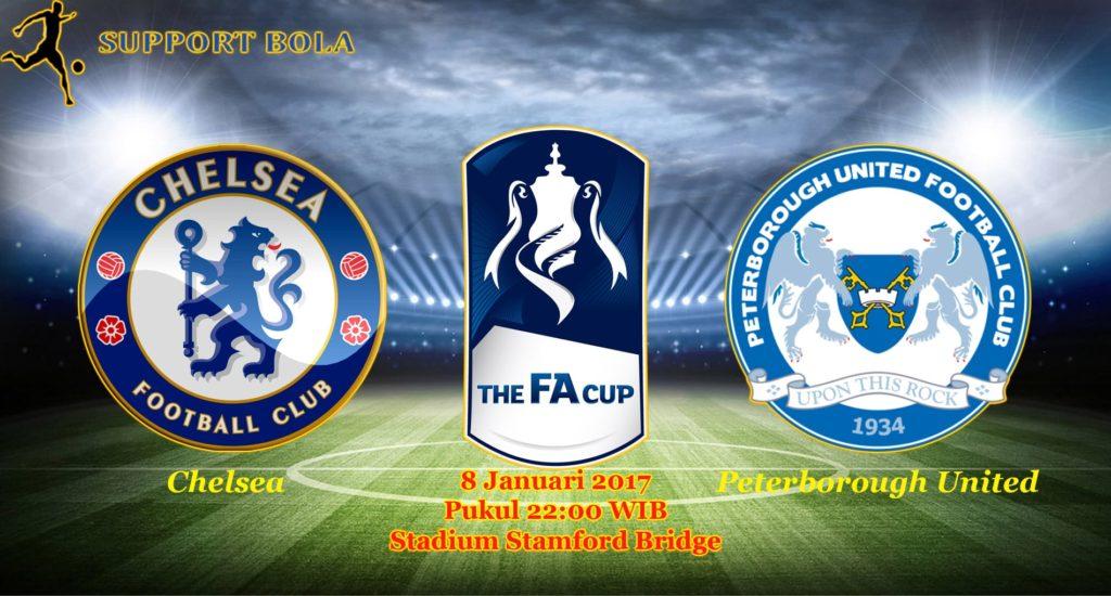 Prediksi Chelsea vs Peterborough United ( FA CUP ) 8 Januari 2017