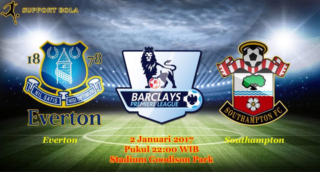 Prediksi Everton vs Southampton (Liga Inggris) 2 Januari 2017