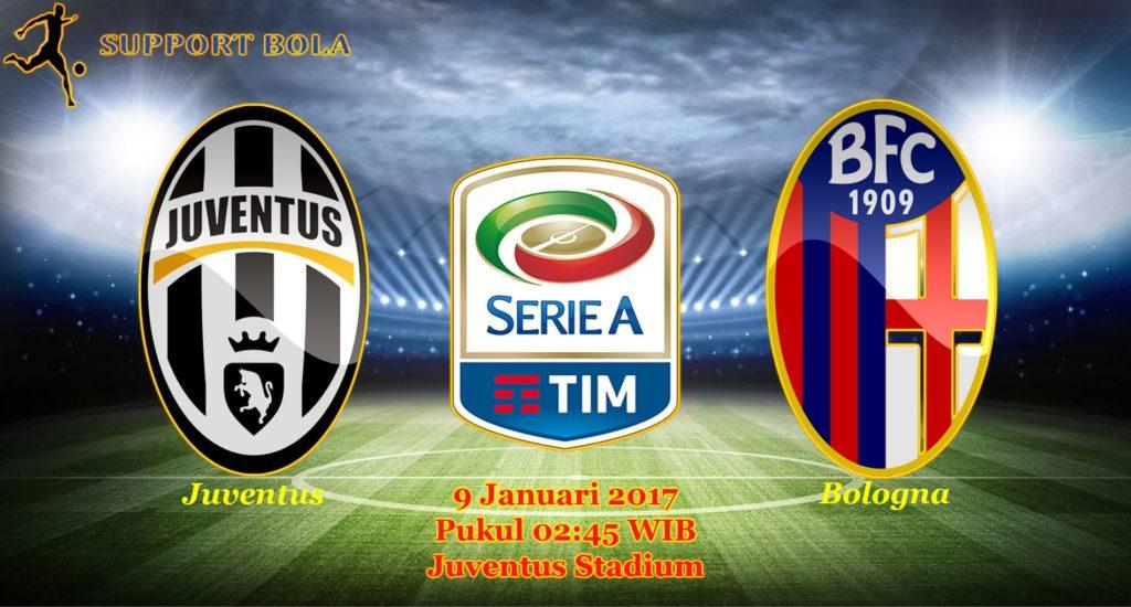 Prediksi Juventus vs Bologna (Liga Serie A) 9 Januari 2017
