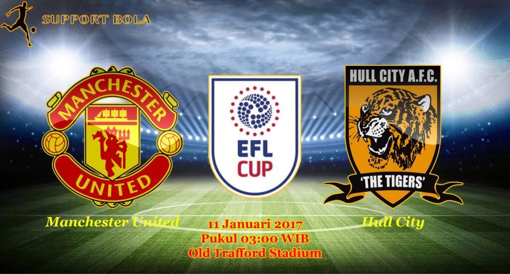 Prediksi Manchester United vs Hull City (Liga Inggris) 11 Januari 2017