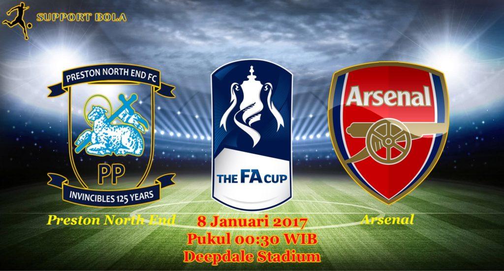 Prediksi Preston North End vs Arsenal ( FA CUP ) 8 Januari 2017