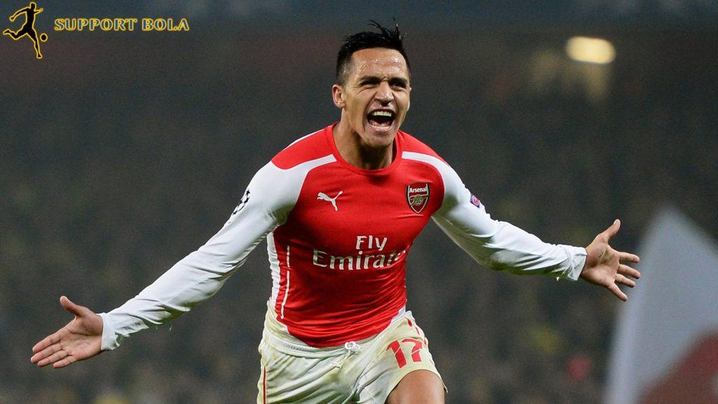 Sanchez Memastikan Kebahagiannya Di Arsenal