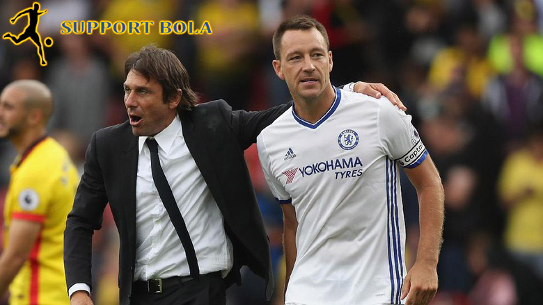 Conte : John Terry Tetap Di Chelsea Bulan Januari Ini