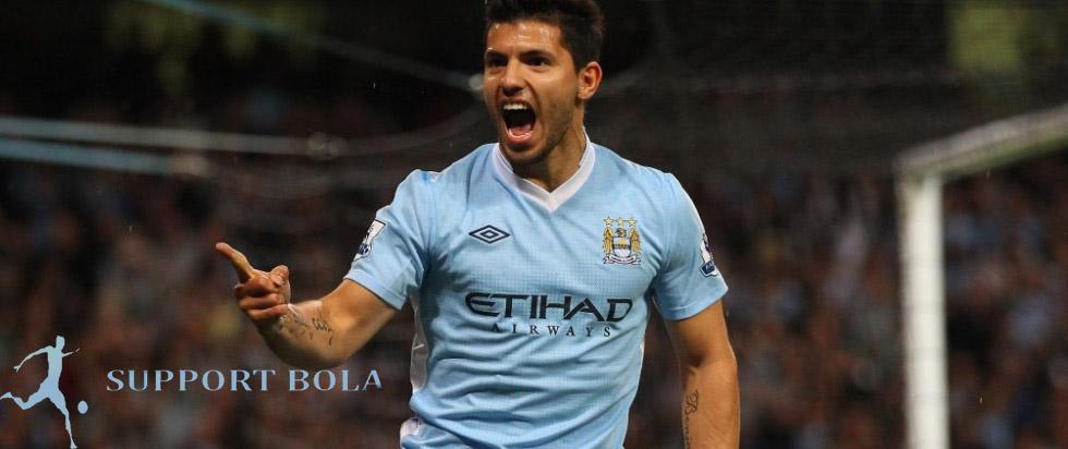 Aguero Tetap Bertahan Di Manchester City Hingga 2020