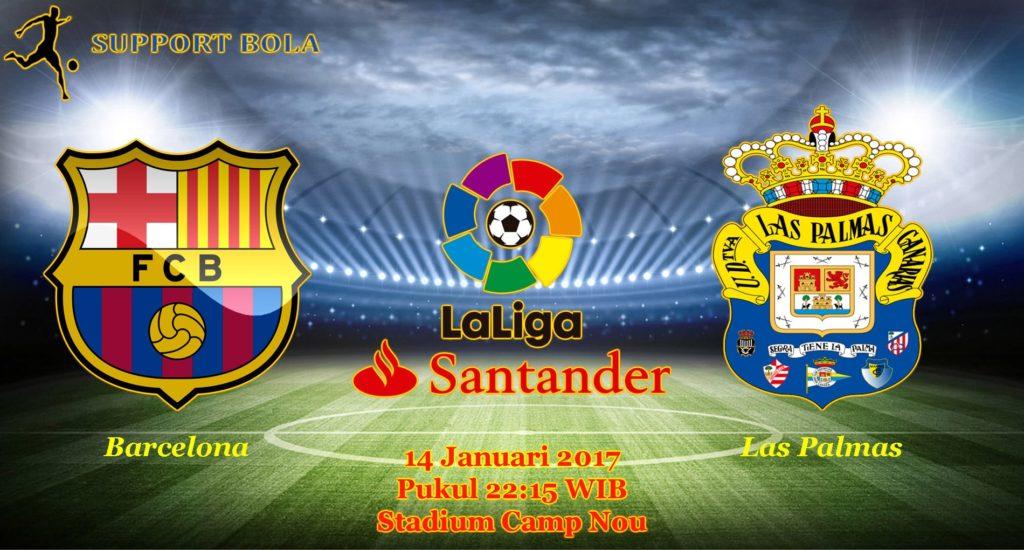 Prediksi Barcelona vs Las Palmas (LaLiga Santander) 14 Januari 2017