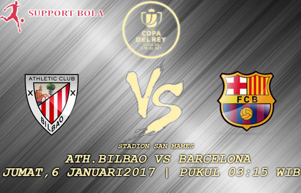 Prediksi Athletic Bilbao VS Barcelona : Bilbao Kedatangan Tamu Ganas