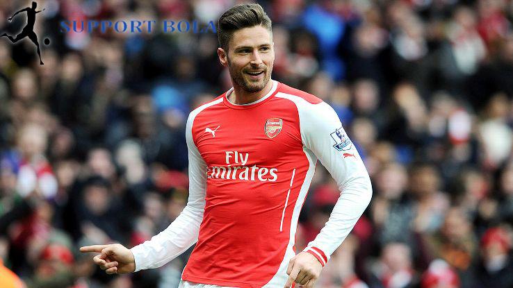 Olivier Giroud Tinggal Satu langkah lagi Dan Arsenal Perpanjang Kontraknya