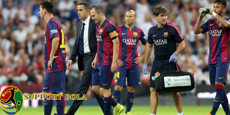 Iniesta Cedera Terpaksa Harus Absen Bertamu Ke Stadium, Milik Eibar