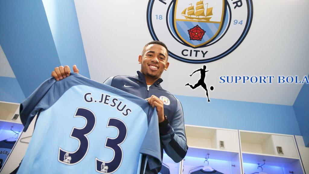Gabriel jesus Bocah 452 Miliar Di Sanjung Sang Pelatih Guardiola
