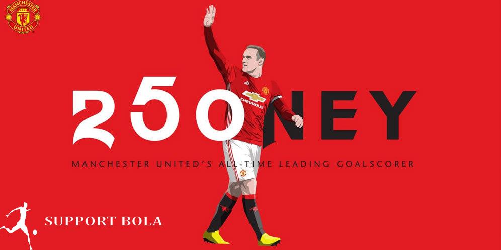 "Rooney Mencatatkan Rekornya Dan Menjadi Legenda MU,""Ungkap Mourinho"