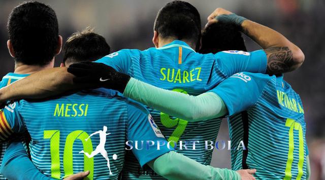 Trio MSN Kembali Berhasil Menyumbangkan Gol Lagi, Untuk Barca